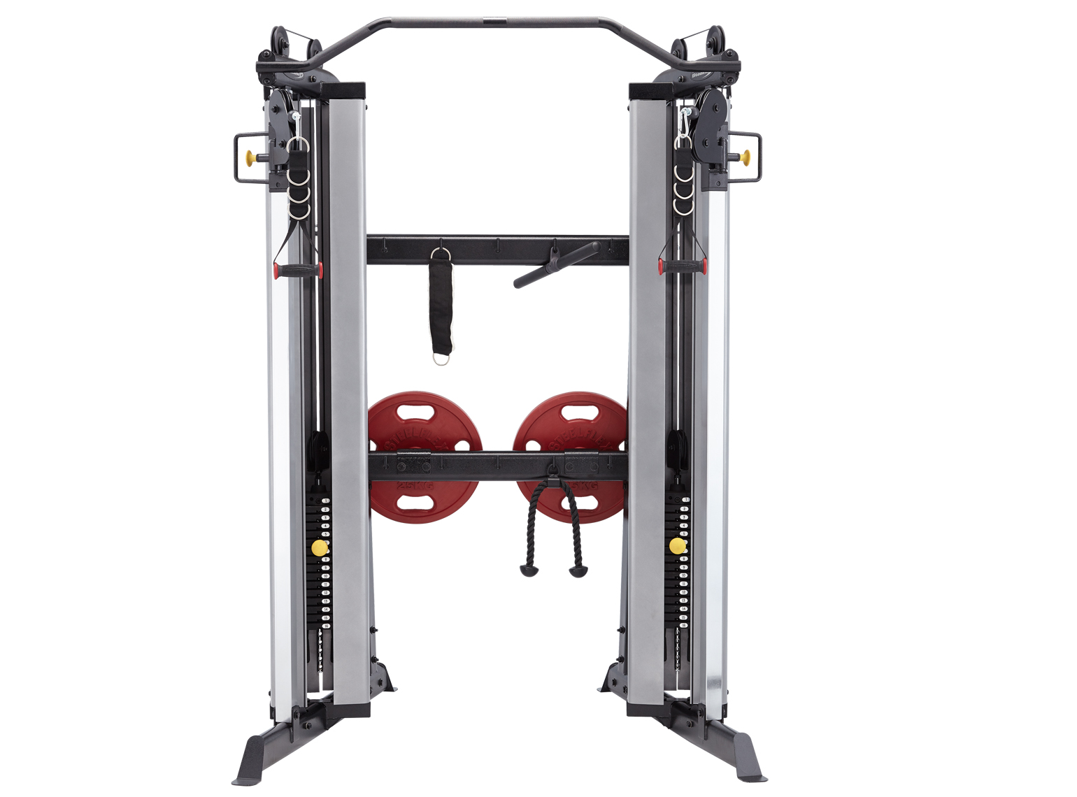 Steelflex Clubline Dual Cable Column with Optional Bar Attachments