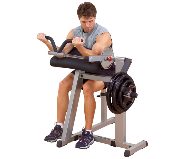 Body Solid Plate Loaded Cam Series Plate Bicep-Tricep