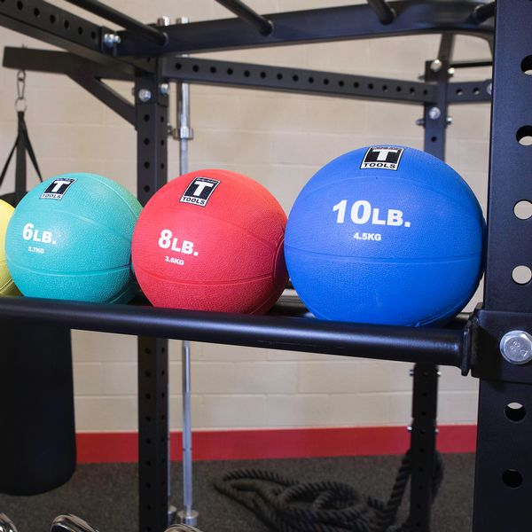 Body Solid Hexagon Pro Functional Training Rig System Ball Tray