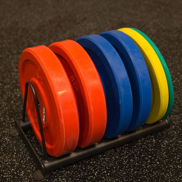 Body Solid Hexagon Pro Functional Training Rig System Weight Plate Storage