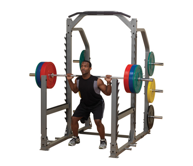 Body Solid Multi SQAT-Press Rack