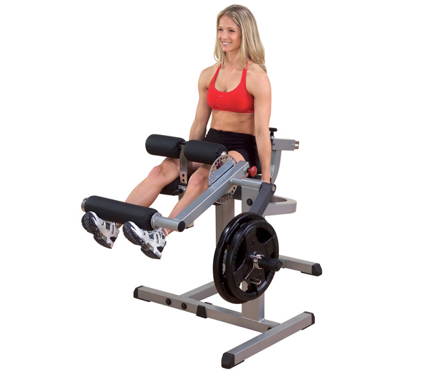 Body Solid Plate Loaded Cam Series Leg Extension-Leg Curl