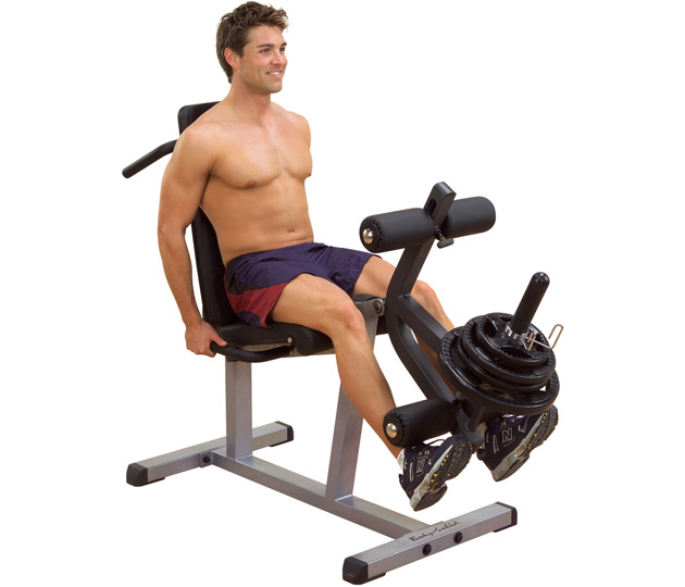 Body Solid Plate Loaded Leg Extension-Leg Curl