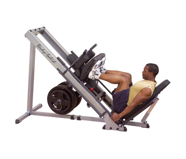 Body Solid Plate Loaded Leg Press-Hack Squat