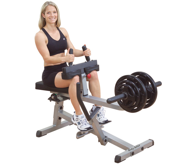 Body Solid Plate Loaded Seated Calf Raise