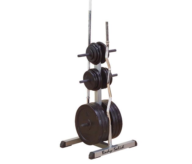Body solid Standard Weight Tree & Bar Rack