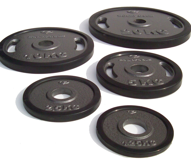 Olympic Rubber Edged Weight Plates